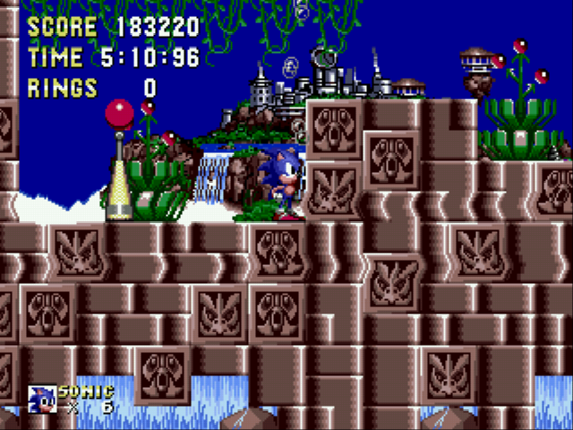 Sonic 1 Megamix (v3.0) - My Second Score - User Screenshot