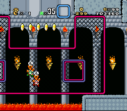 Super Mario World Deluxe - Graphics Edition - This is my Score - User Screenshot