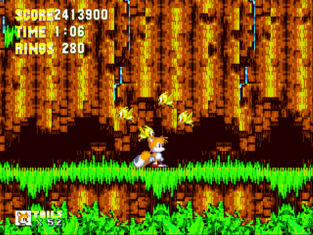 Sonic 3 Complete - I AM GOD!! - User Screenshot