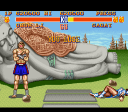 Street Fighter II - The World Warrior - dang sagat  - User Screenshot