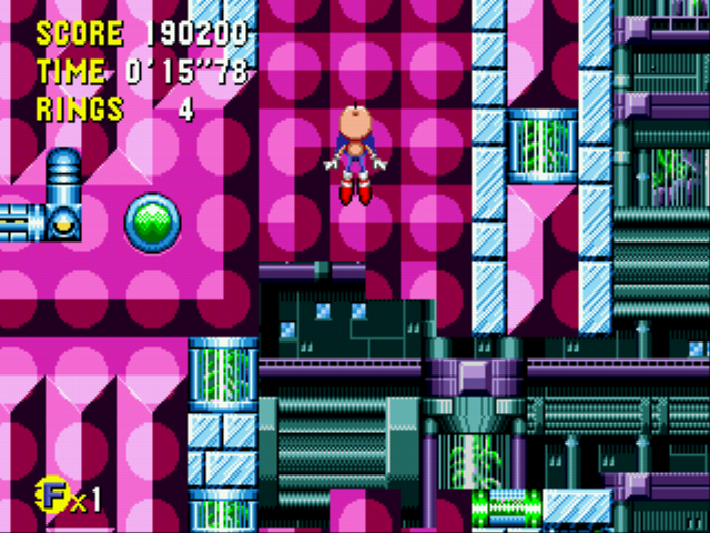 Sonic CD - tidal tempest act 3 - User Screenshot