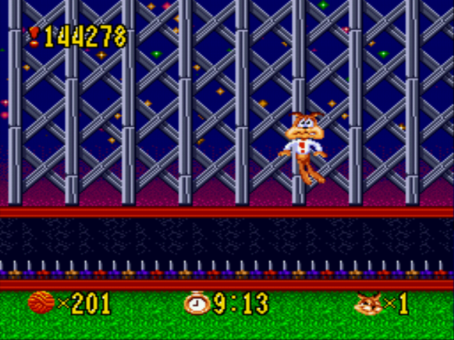 Bubsy - My Score on Bubsy - User Screenshot
