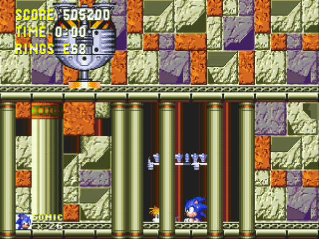 Sonic and Knuckles & Sonic 3 - I BEAT U RATCHETDUDE - User Screenshot
