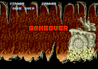 Altered Beast - my score - User Screenshot