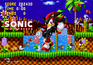 Shadow the Hedgehog - my score - User Screenshot
