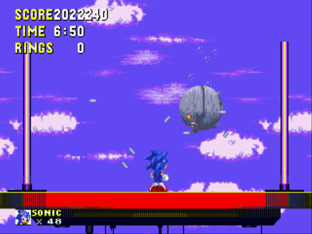 Sonic the Hedgehog 3 - my score - User Screenshot