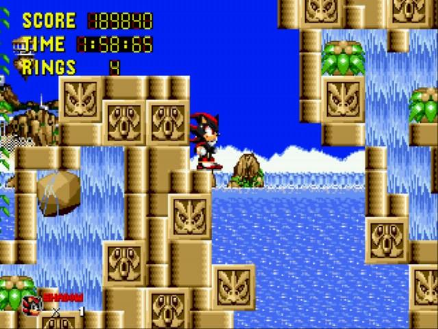 Sonic 1 Megamix (v3.0) - Yes!! - User Screenshot