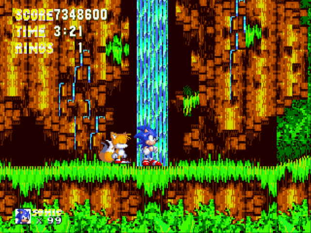 Sonic 3 Complete - the god of all games - User Screenshot