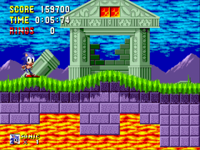 Sonic 1 Megamix (v3.0) - Alright! - User Screenshot