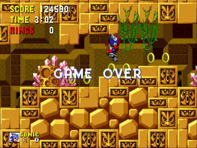 Sonic the Hedgehog - NOOOOOO!!!!! - User Screenshot