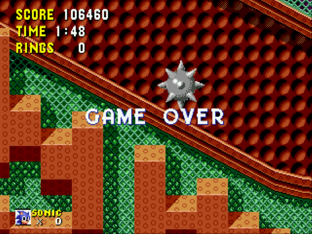 Sonic the Hedgehog - Spring Yard Zone A2 - User Screenshot