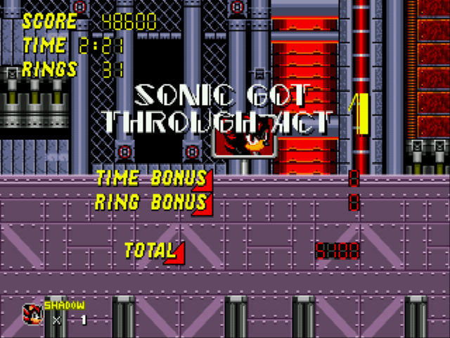 Sonic 2 - Project Shadow -  - User Screenshot