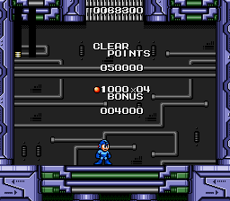 Mega Man - The Wily Wars - one defeated - User Screenshot