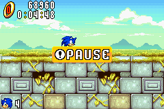 Sonic Advance - yay - User Screenshot