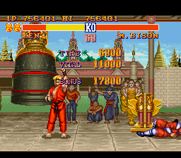 Street Fighter II - The World Warrior - Not bad - User Screenshot