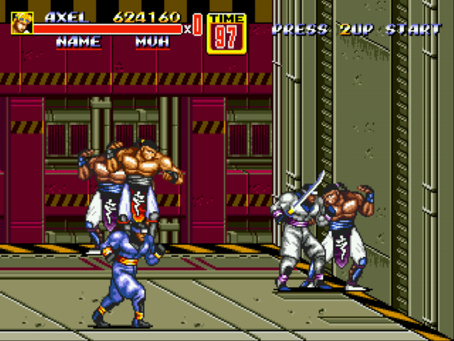 Streets of Rage 2 - Nice for the 1st try - User Screenshot