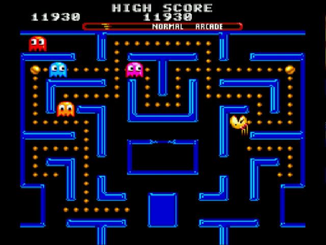 Ms Pac-Man - Not too bad - User Screenshot