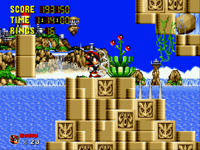 Sonic 1 Megamix (v3.0) - so far not so good  - User Screenshot