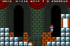 Super Mario Advance 4 - Super Mario Bros. 3 - No special suit use - User Screenshot