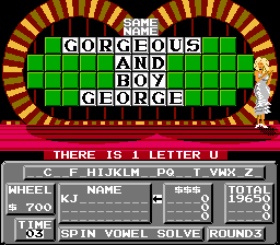 Wheel of Fortune - Family Edition -  - User Screenshot
