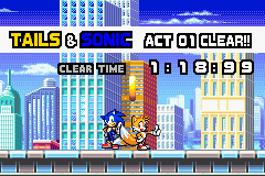 Sonic Advance 3 - sonic & tails - User Screenshot