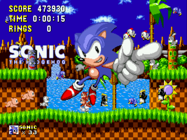 Sonic 1 Megamix (v3.0) -  - User Screenshot