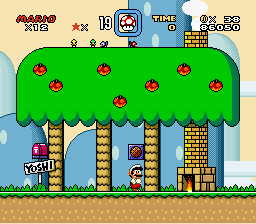 Super Mario World - i did it! - User Screenshot
