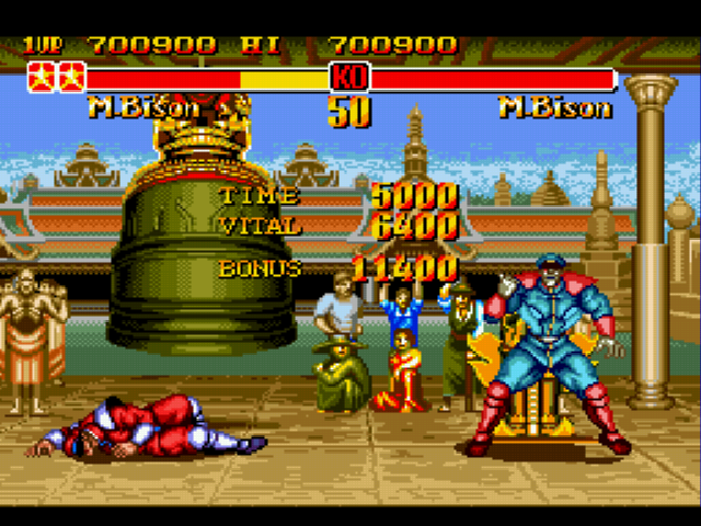 Super Street Fighter II - AS. - User Screenshot