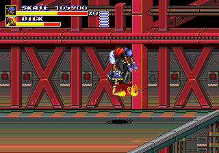 Streets of Rage 3 - Slam dunk!! - User Screenshot