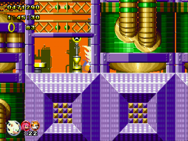 Sonic Classic Heroes - oh yeah!second place - User Screenshot
