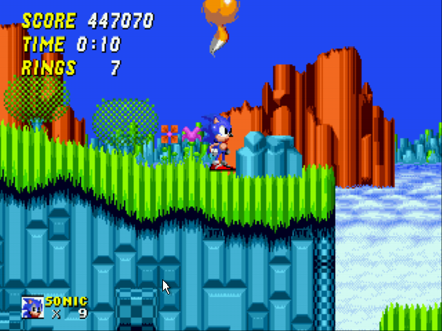 Sonic the Hedgehog 2 - Now beat my score! - User Screenshot