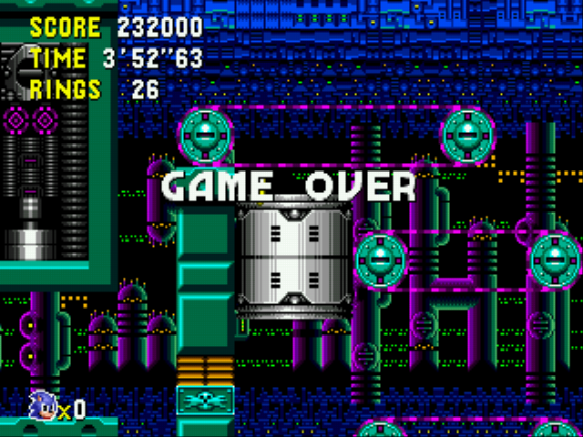 Sonic CD (european version) - Well, here it ends.. - User Screenshot