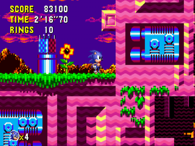 Sonic CD - Just a quick trial - User Screenshot