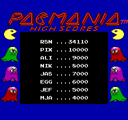 Pac-Mania - Good enough - User Screenshot