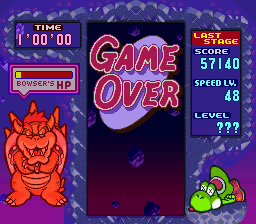 Tetris Attack - Stage Clear Mode :D - User Screenshot