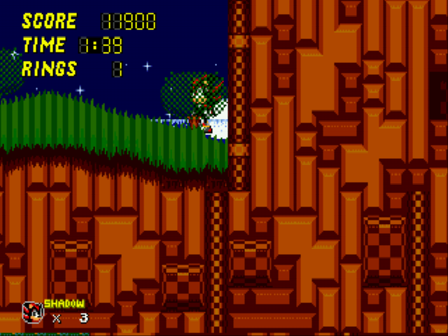 Sonic 2 - Project Shadow - ALL HAIL SHADOW! - User Screenshot