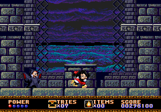 Castle of Illusion Starring Mickey Mouse - beat the game - User Screenshot