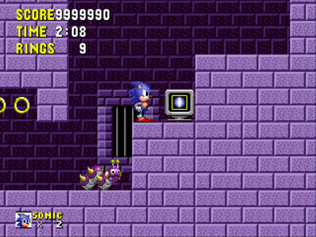 Sonic the Hedgehog - BRAWLER!!!!!!!! - User Screenshot