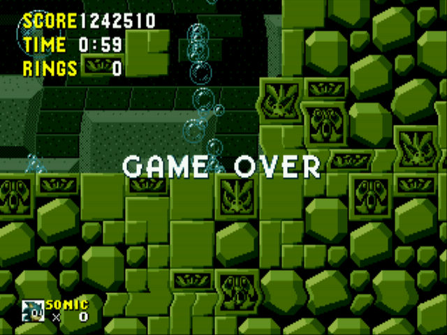 Sonic the Hedgehog - Collecting rings >_ - User Screenshot