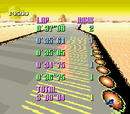 F-ZERO - First try - User Screenshot