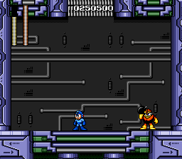 Mega Man - The Wily Wars - Second fight :P - User Screenshot