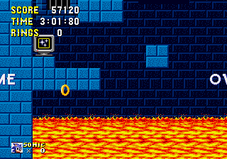 Sonic 1 Megamix - Impossible level - User Screenshot