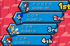 Sonic Battle - THE ULTIMATE POWER - User Screenshot