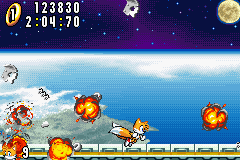 Sonic Advance - Beating the game - User Screenshot
