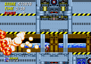 Sonic the Hedgehog 2 - come on step it up - User Screenshot