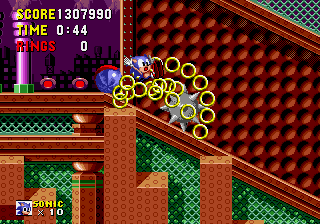 Sonic the Hedgehog - Two sonics - User Screenshot