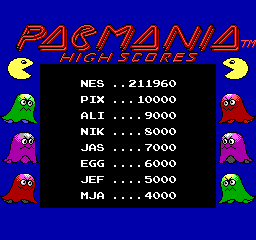 Pac-Mania - Only 3 ghosts :P - User Screenshot