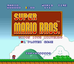 Super Mario All-Stars - Here, it ends at 90. - User Screenshot