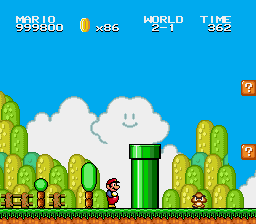 Super Mario Bros II 1998 (hack) -  - User Screenshot