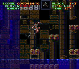 Super Castlevania IV - Cool pose :P - User Screenshot